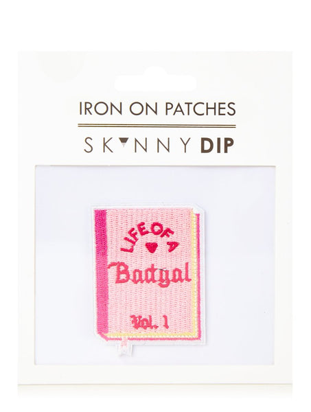 Life Of A Badgal Iron On Patch