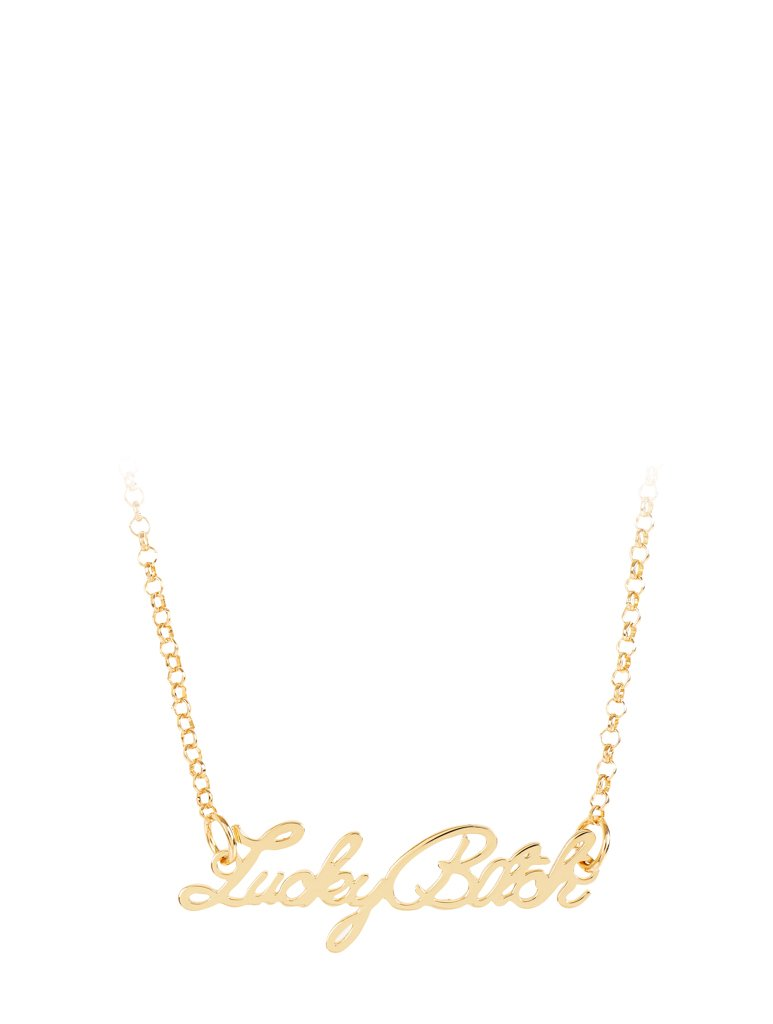 Lucky B*tch Necklace
