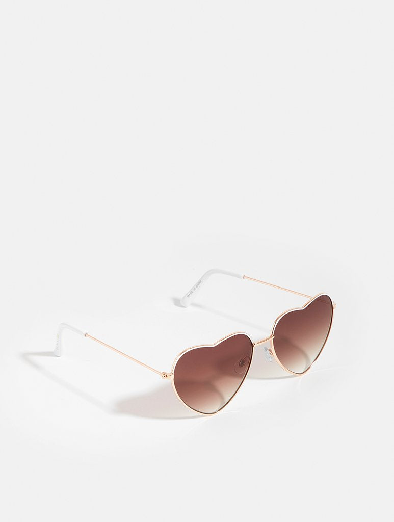 Madison Rose Gold Sunglasses