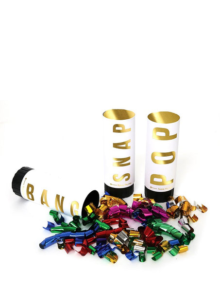 Pack Of Three Confetti Canon