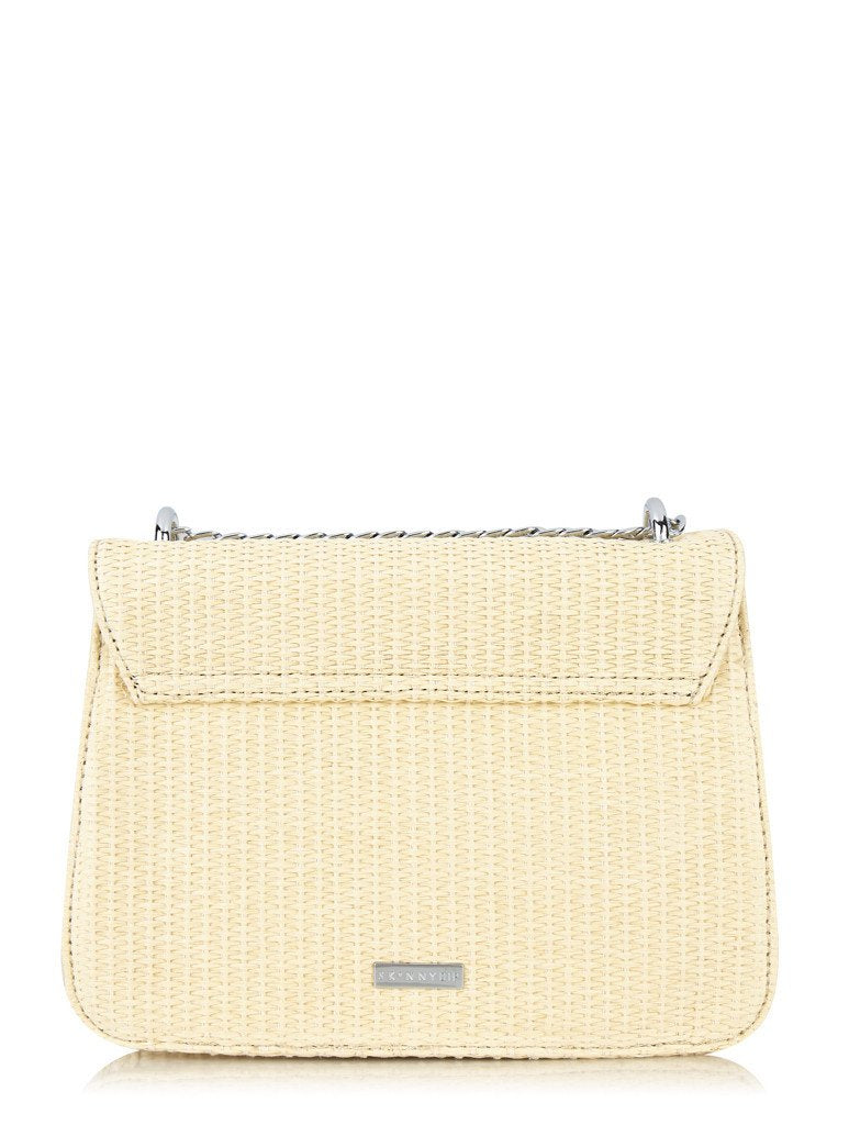 Mini Laureli Raffia Cross Body Bag