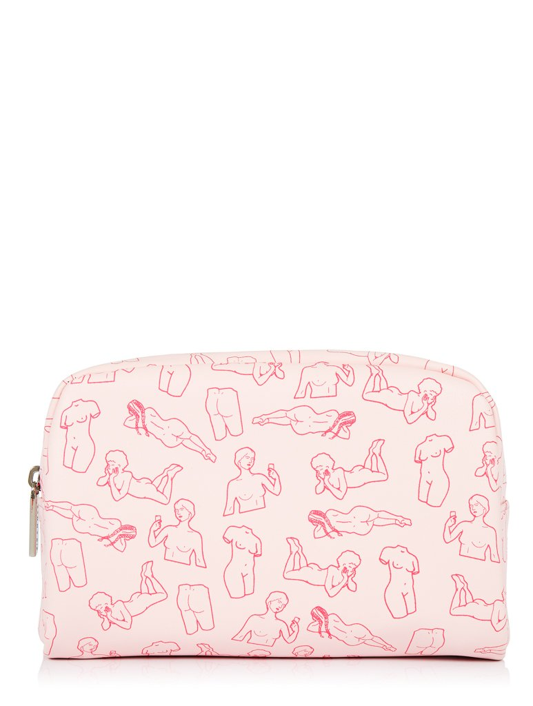 Nude Lady Makeup Bag