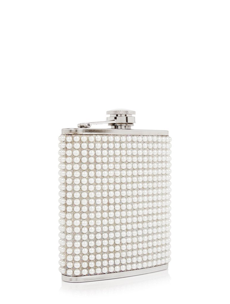 Pearly Hip Flask