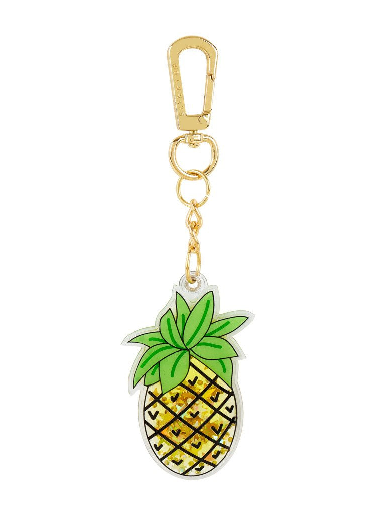 Pineapple Liquid Key Charm
