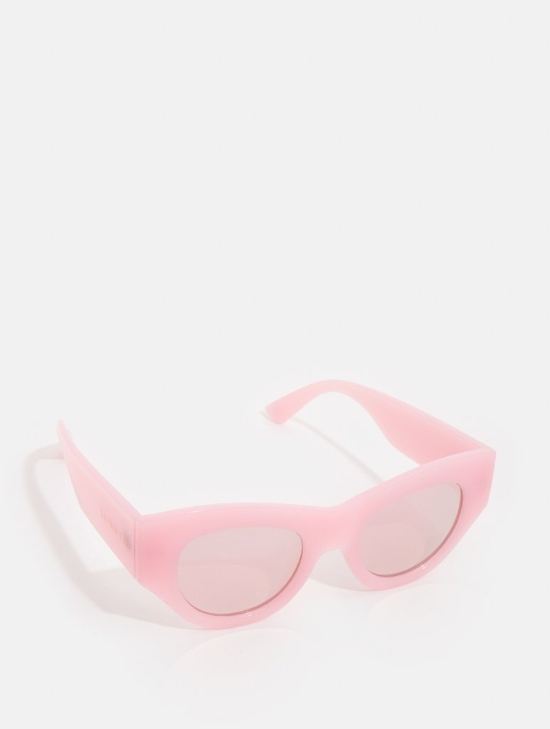 Pink Chunky Cat Sunglasses