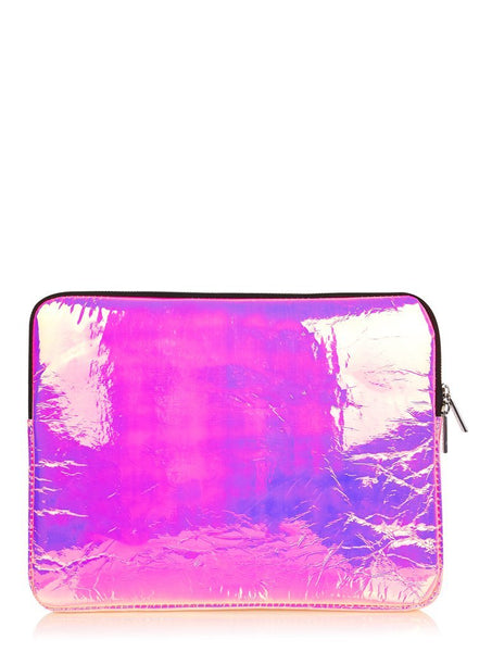 Pink Holo Laptop Case