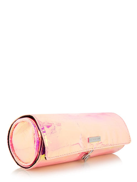 Pink Iridescent Make Up Roll