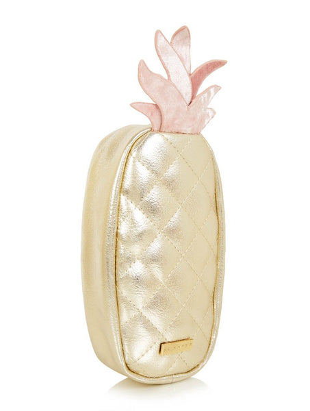 Pink Pineapple Pencil Case