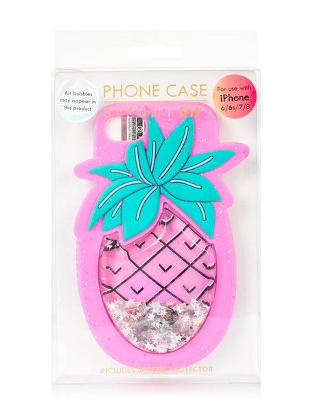 Pineapple Blush Silicone Case