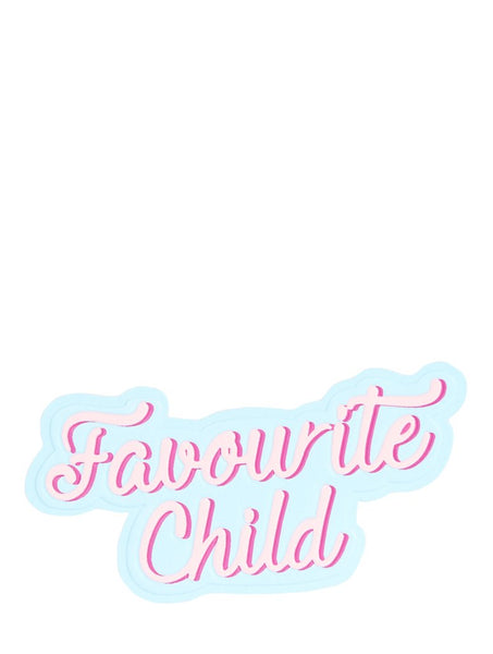 Favourite Child Plushie Sticker