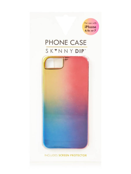 Rainbow Chrome Case