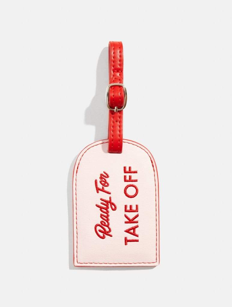 Ready For Take Off Luggage Tag by Skinny Dip