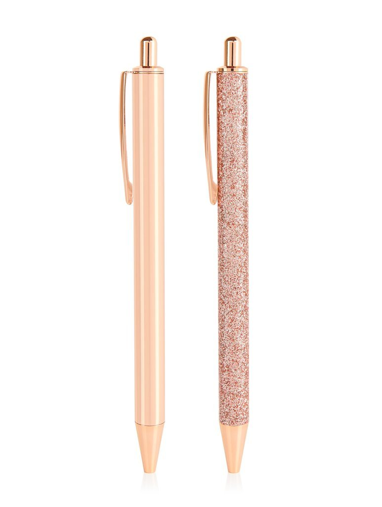 Rose Gold Glitter Pen Pack