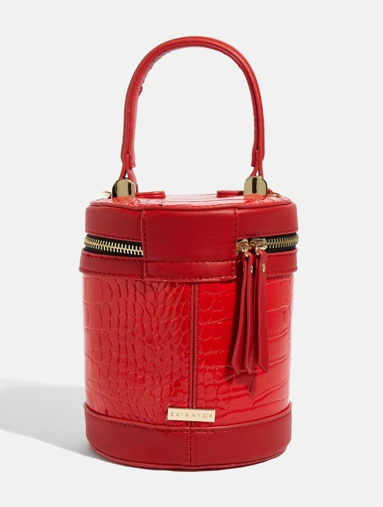 Rouge Drum Cross Body Bag