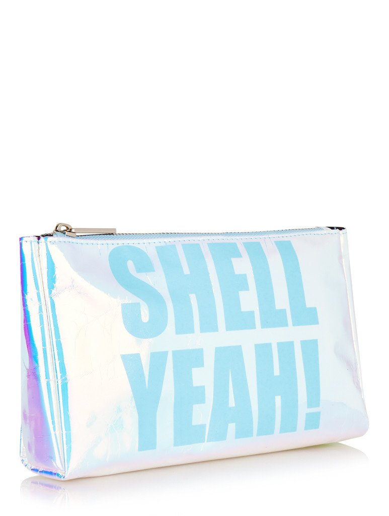 Shell Yeah Washbag