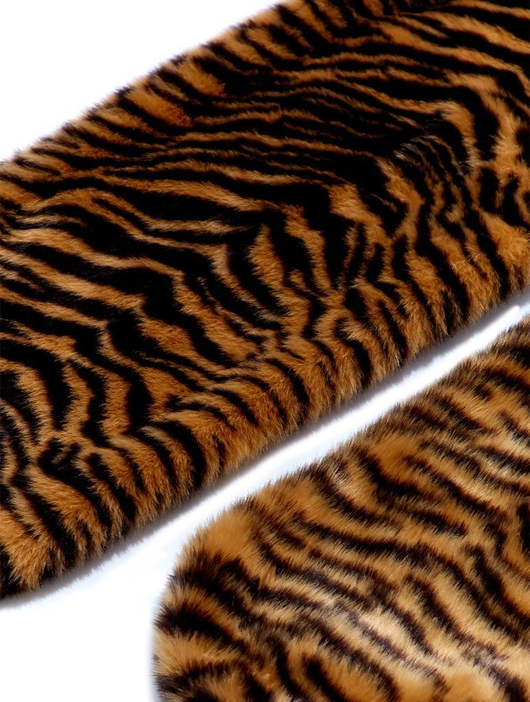 Tiger Faux Fur Scarf
