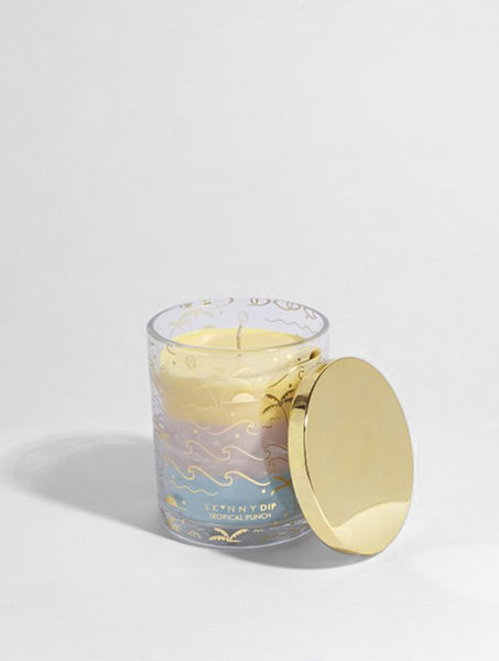 Ombré Sunset Candle