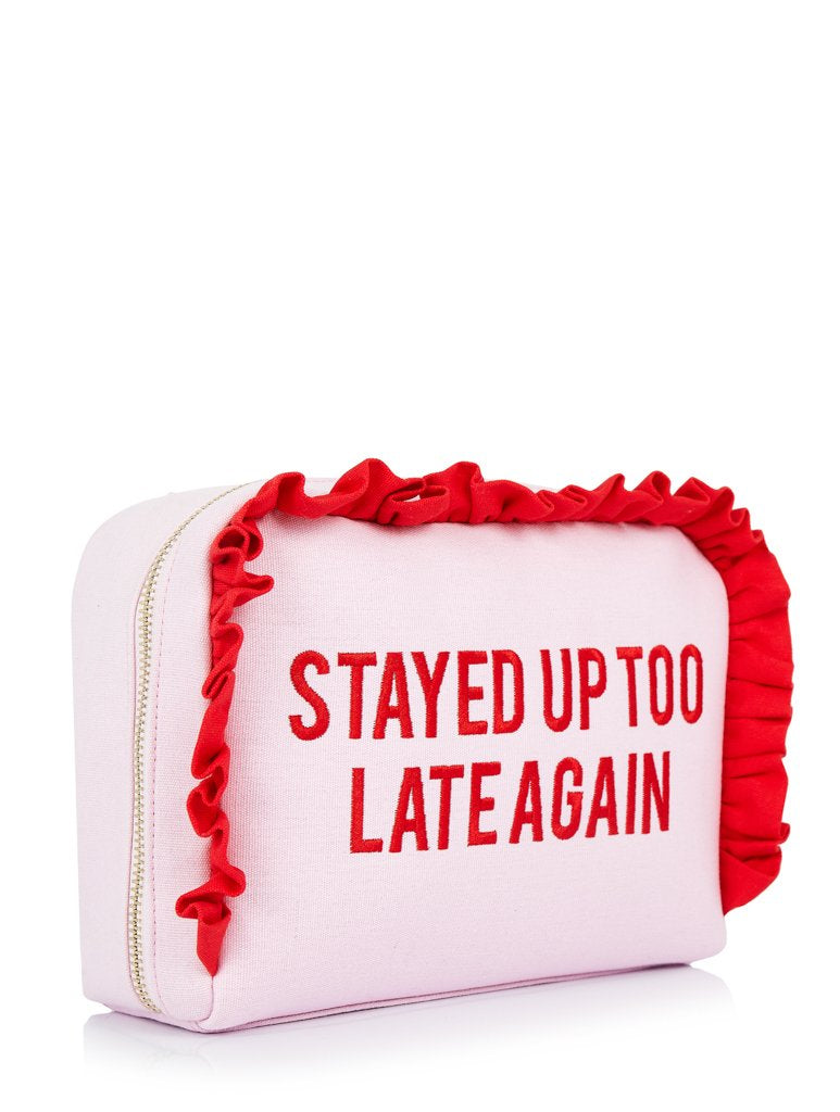 Up Too Late Wash Bag