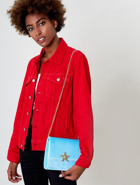 Velvet Candy Cross Body Bag