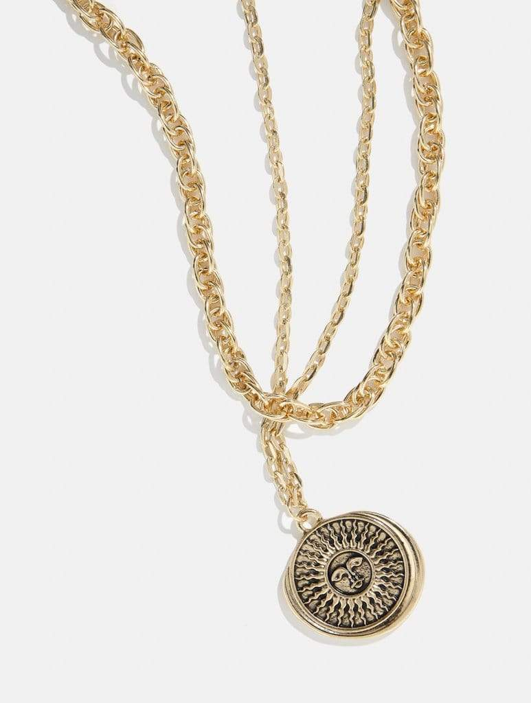 Vintage Sun Necklace