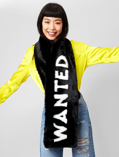Wanted Faux Fur Scarf