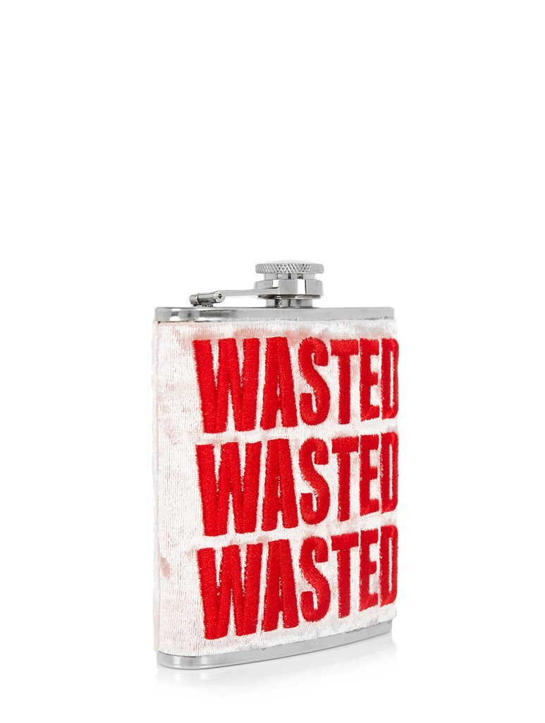 Wasted Hip Flask
