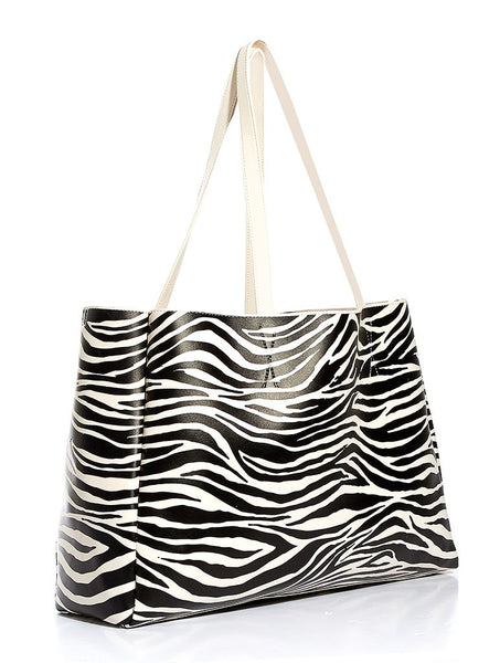 Zebra Camille Shoulder Bag