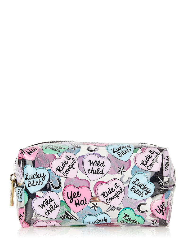 Lucky Bitch Make Up Bag
