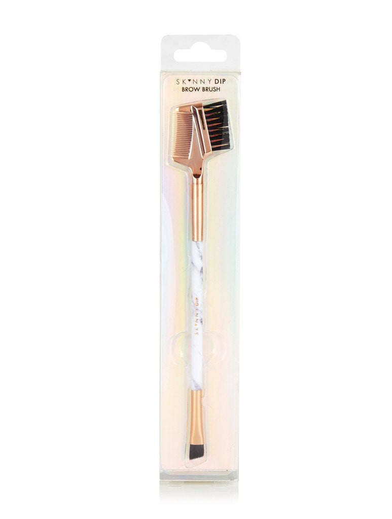 Marble Brow & Lash Brush Skinnydip London
