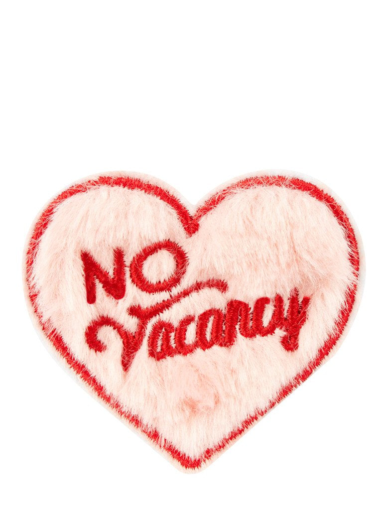 No Vacancy Iron On Patch