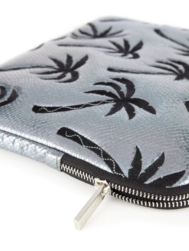 Palm Shimmer Laptop Case