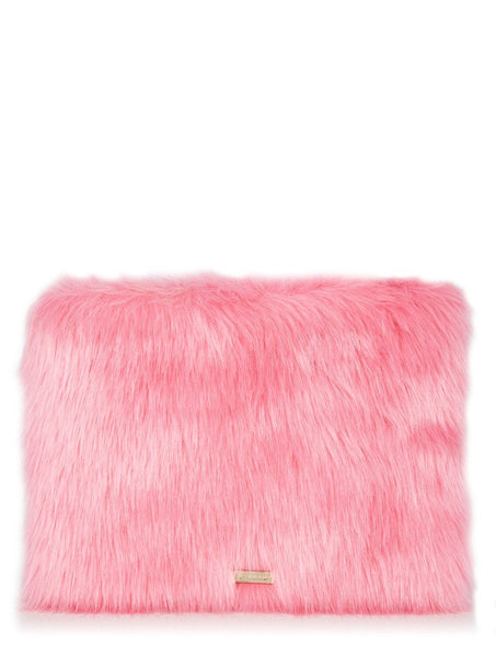 Patti & Selma Fur Clutch Bag