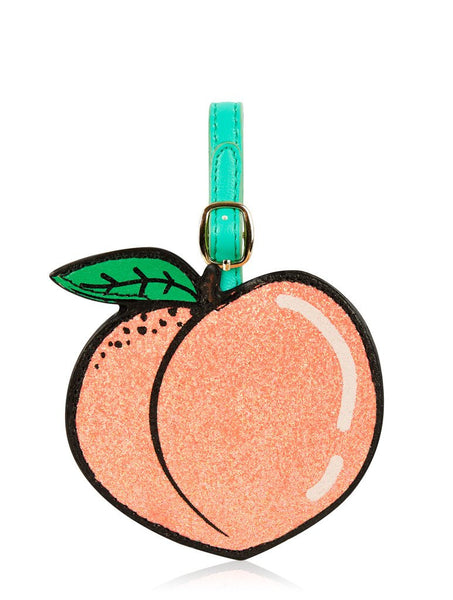 Peach Luggage Tag