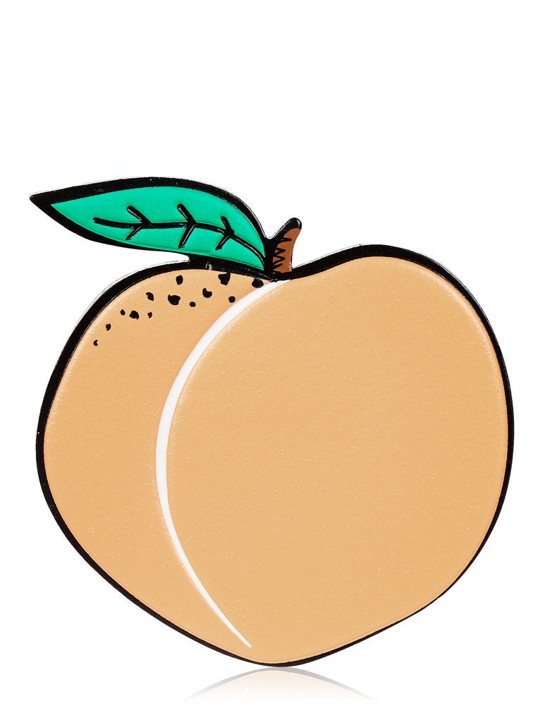 Peach Plushie Sticker