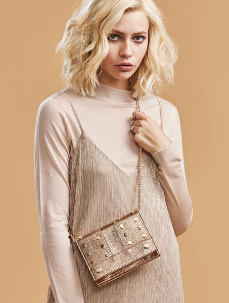 Rose Gold Ray Cross Body Bag
