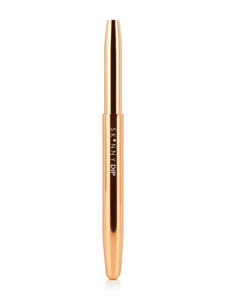Rose Gold Retractable Lip Brush