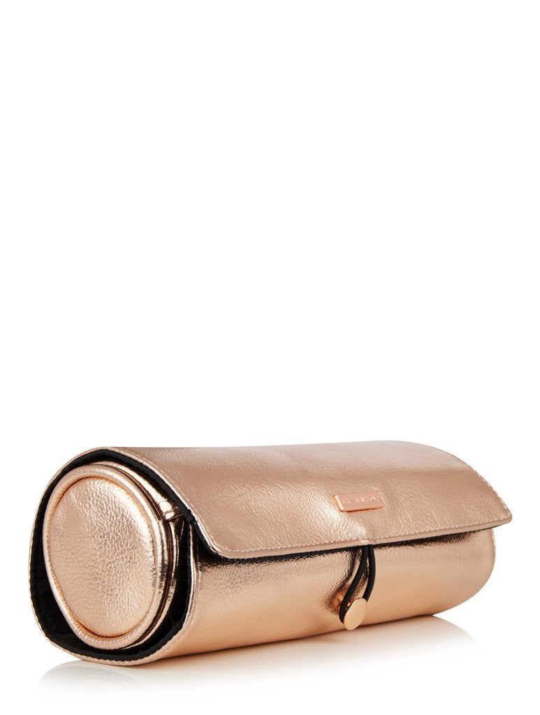Rose Gold Makeup Roll