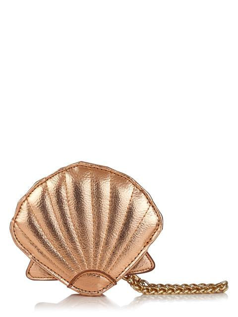 Rose Gold Shell Coin Purse