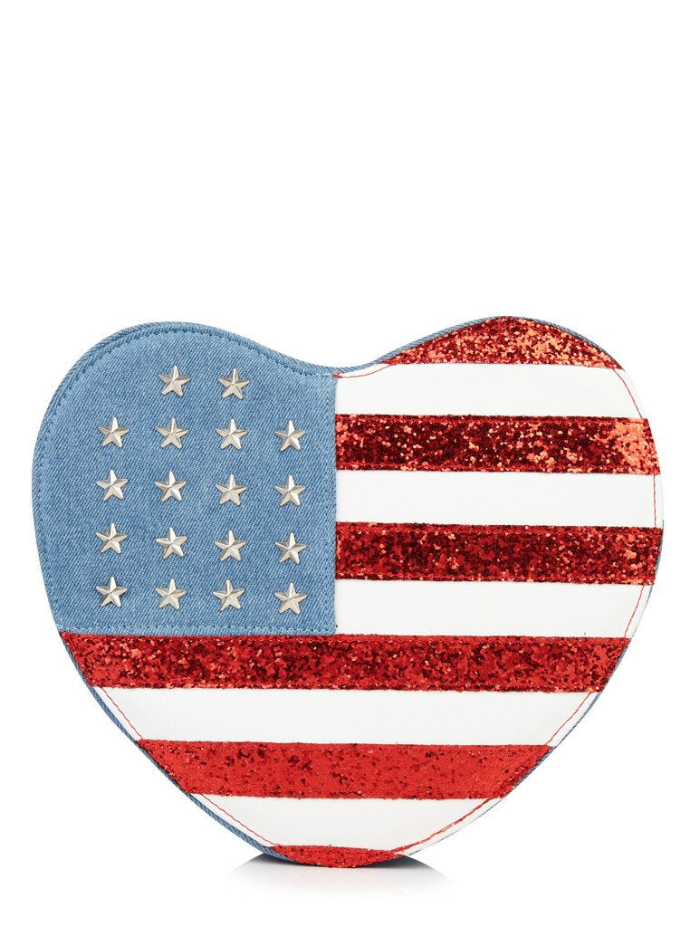 USA Heart Bag