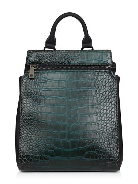 Croc Zip Backpack
