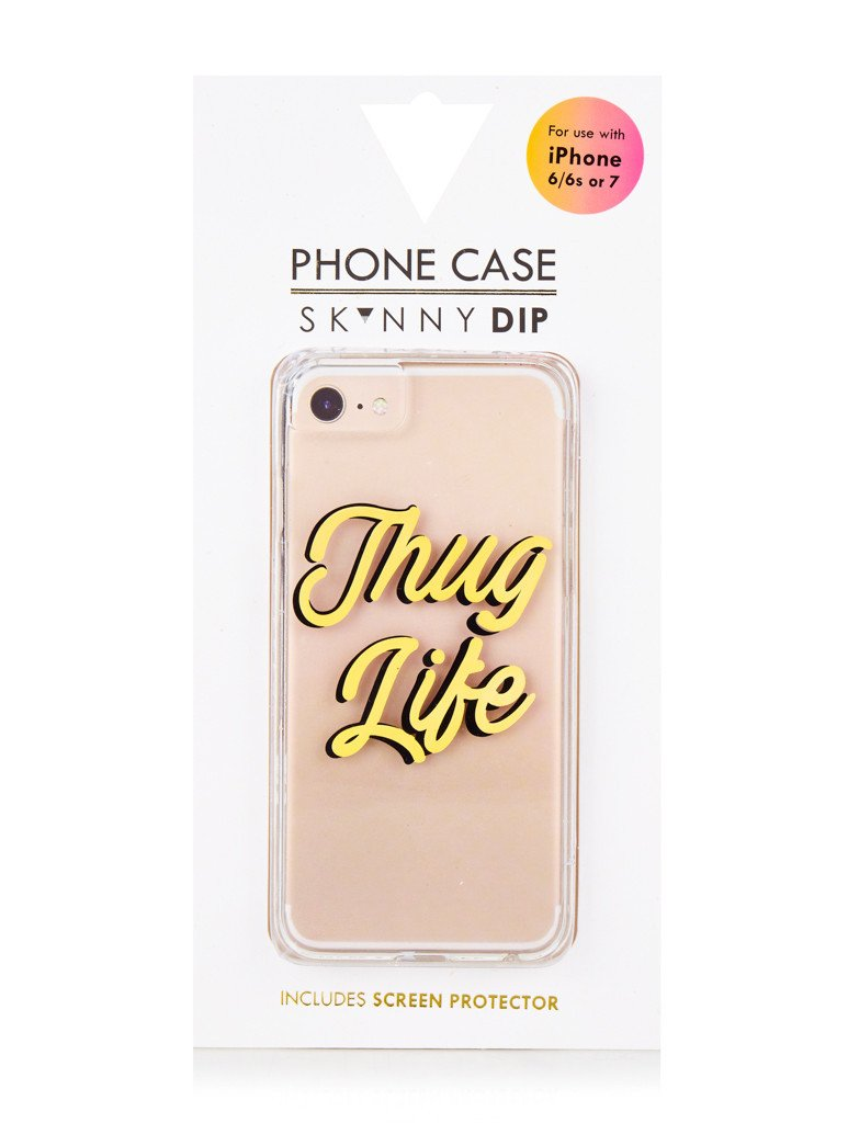 low priced 4c057 aa024 Thug Life Case | Cell Phone Cases | Skinnydip London