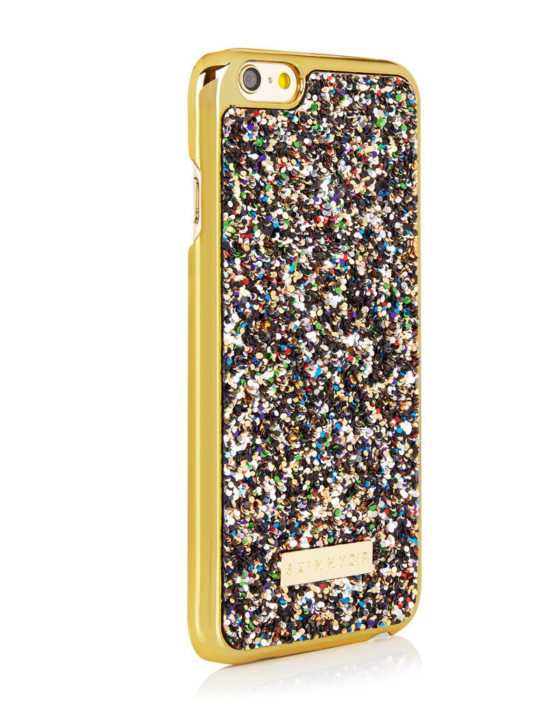 Gold Multi Glitter Case