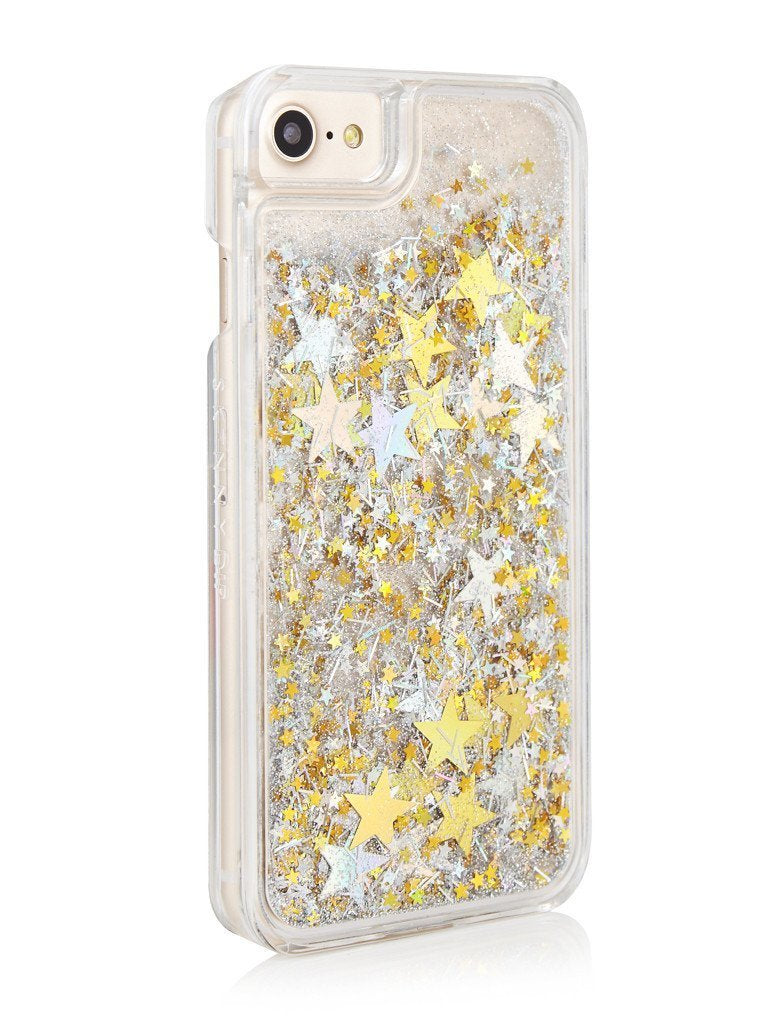 Gold/Silver Glitter Star Case