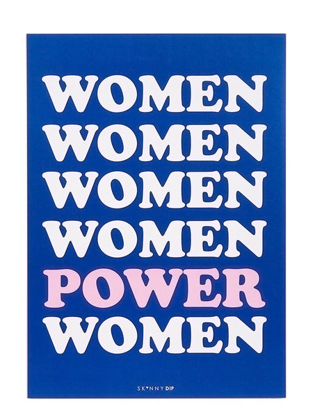 Women Power A3 Wall Print