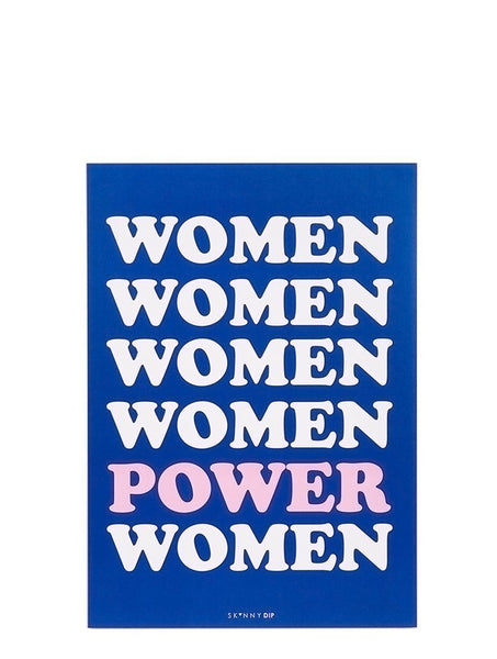 Women Power A4 Wall Print