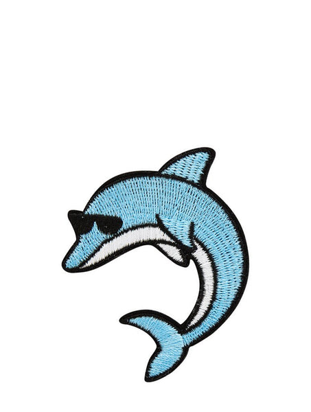 Skinnydip London Dolphin Iron On Patch