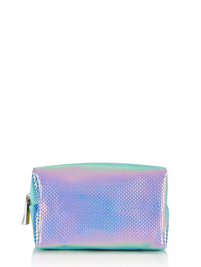 Holo Cat Make Up Bag
