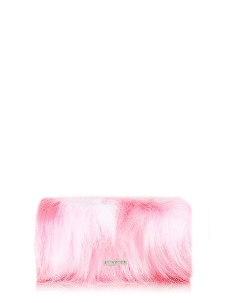 Skinnydip London Pink Fluffy Make Up Bag