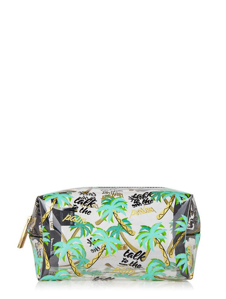 skinnydip london Talk To The Palm Make Up Bag