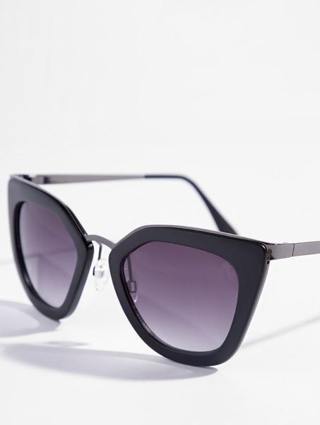 Black Alien Sunglasses